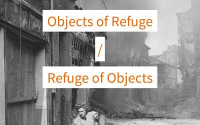 "International Symposium ""The Refuge of Objects / Objects of Refuge"" on December 15 – 17, 2016"